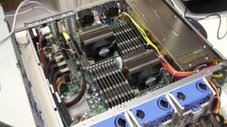 Обзор (ч.1/5) сервера Entry x215 (Dual Xeon x5650) - железо