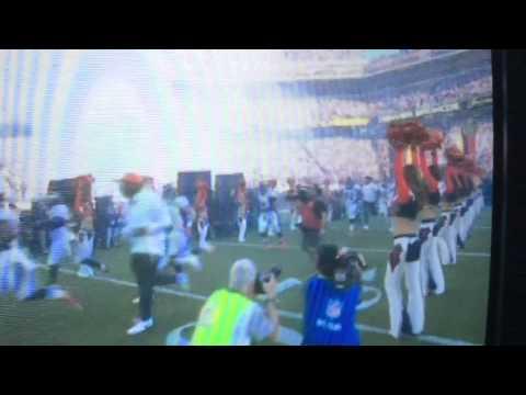 The Denver Broncos cheerleaders