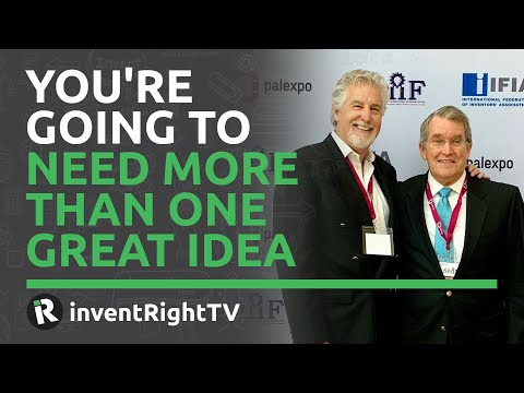 You're Going to Need More Than One Great Idea