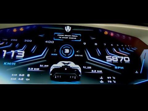 W Motors  Fenyr SuperSport 800 HP Acceleration 0-100km/h
