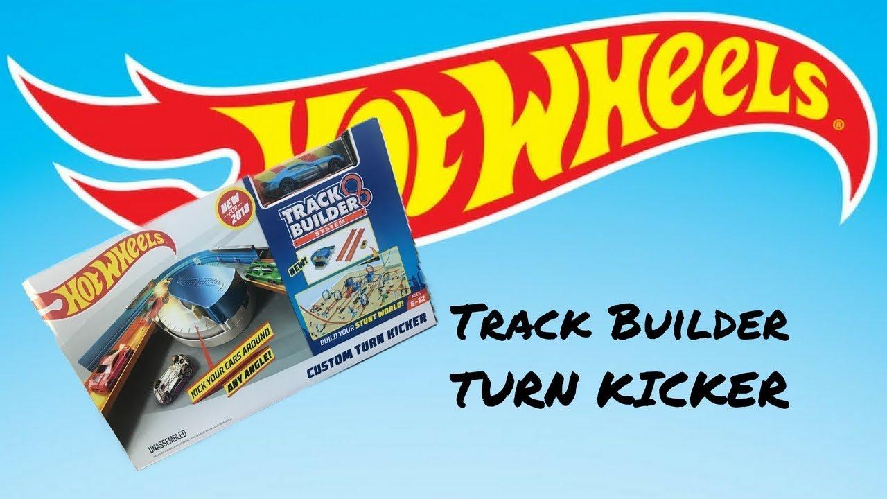 Hot Wheels Track Builder Custom Turn Kicker