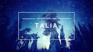 Thalia - Significado del nombre Talia