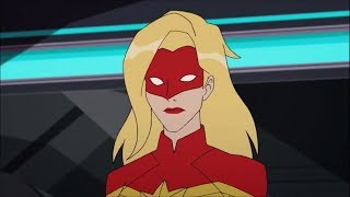 Captain Marvel from Marvel Rising