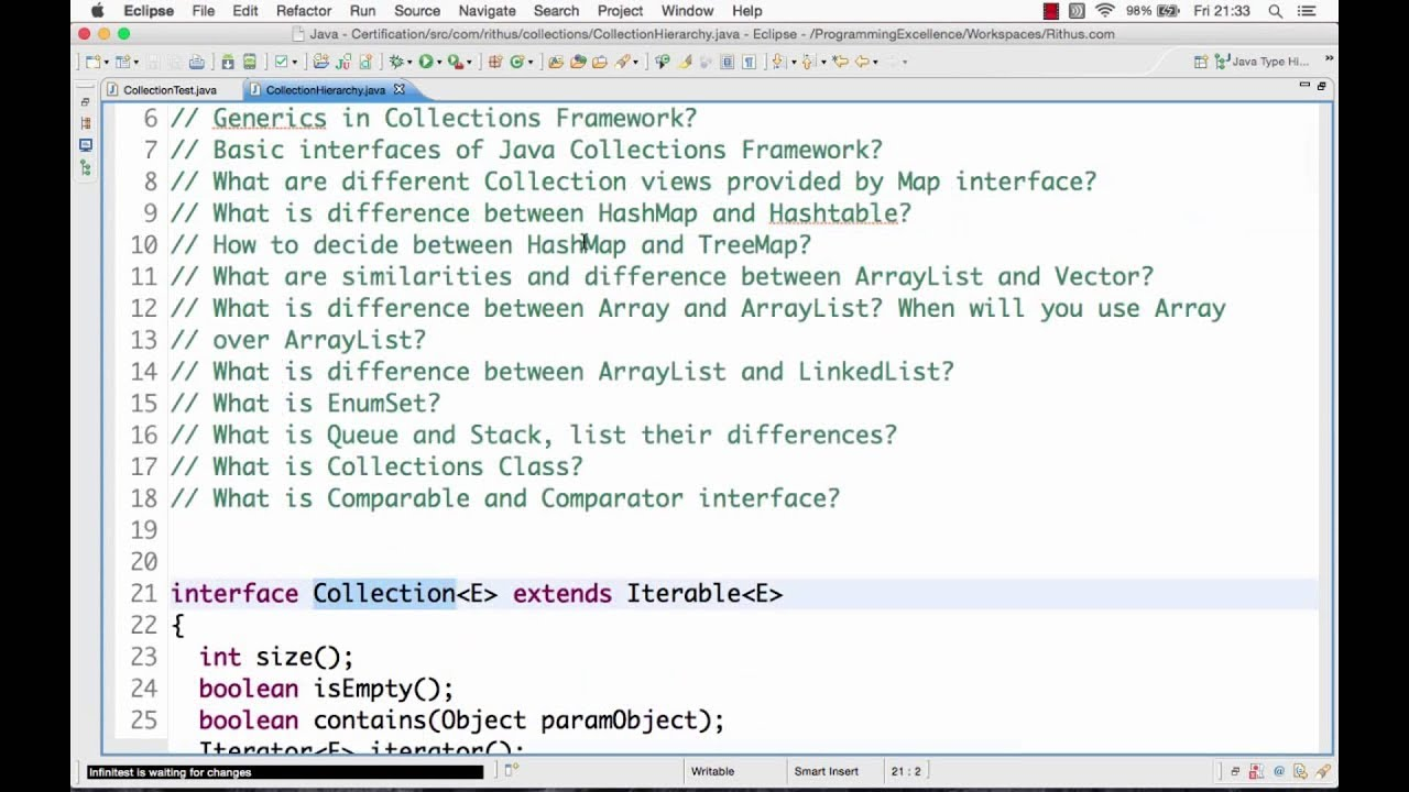 Java collections tutorial youtube java collections tutorial baditri Image collections