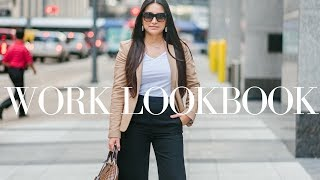 WORKWEAR LOOKBOOK - OFFICE OUTFITS | LuxMommy