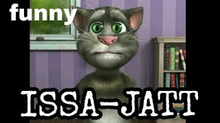 Issa jatt || funny cover talking tom || sidhu moose wala || issa jatt || isa jatt || sidhu moose aal