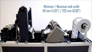 NeuraLabel 300x Digital Label Finisher Model SCR22
