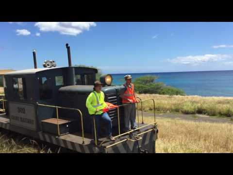 Train to Paradise - Hawaiian Railway Excursion w/ OR&L #302 at Kahe Point