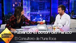 Nuria Roca y Pablo Motos utilizan por primera vez el botón del pánico - El Hormiguero 3.0