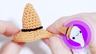 Шляпа ведьмы крючком ♥ Вяжем амигуруми