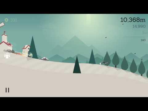 Alto's Adventure - Izel score 35000 trick points