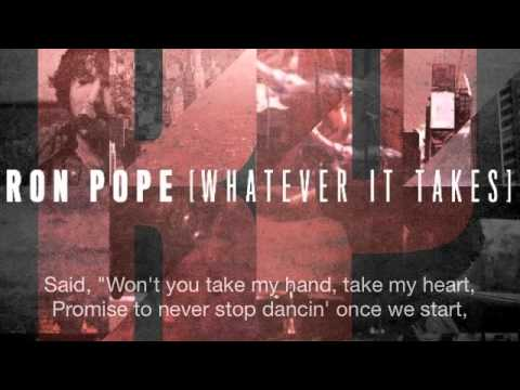Our Song- Ron Pope [Lyrics Video]