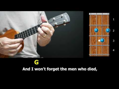 God Bless the USA - Easy Ukulele Version