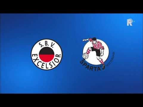 Zo klonk Excelsior-Sparta (1-1) op Radio Rijnmond!