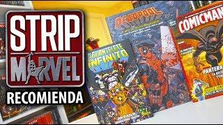 ¡Brutal! El Guantelete del Infinito, El arte de Deadpool, Revista SFX... I Strip Marvel Recomienda