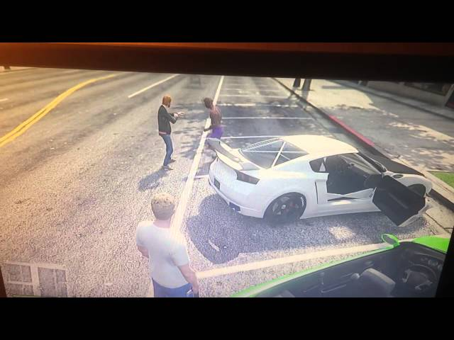 Our Gta online Fight