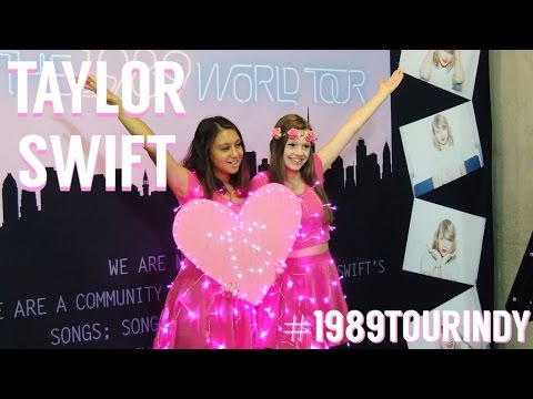 Taylor Swift 1989 World Tour Vlog - Indy