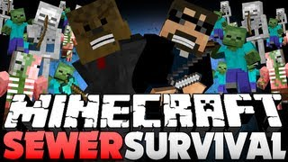 minecraft sewer survival zombie ownage jerome
