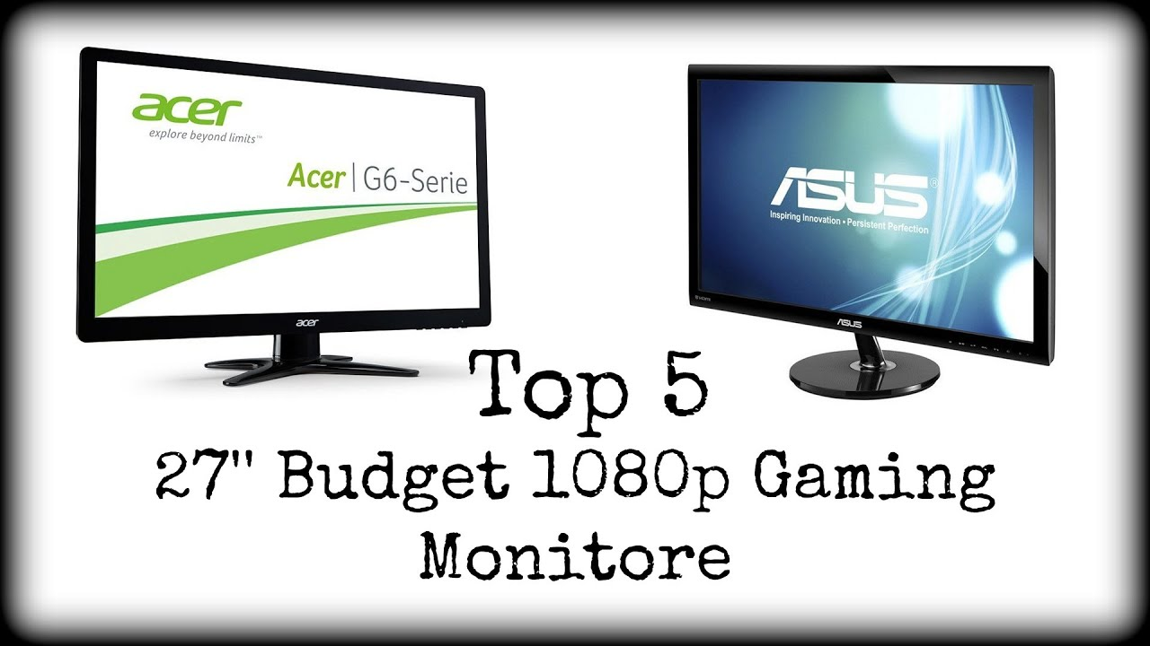 27 zoll 1080p gaming monitore 2015 monitor beratung. Black Bedroom Furniture Sets. Home Design Ideas