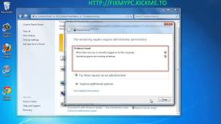 How to Optimize/Fix/Repair Windows 7/8/Vista/XP registry/boot/startup/freeze problems.