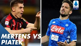 Mertens vs Piątek | Player vs Player | Serie A