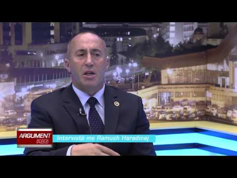 Argument plus - Ramush Haradinaj 11.12.2015