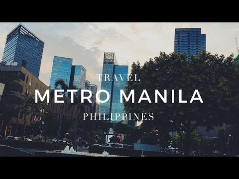 Metro Manila | Philippines | Travel Video | Francis Varela | #ItsMoreFunInThePhilippines