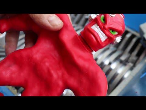 Experiment : VacMan Vs Shredding Machine
