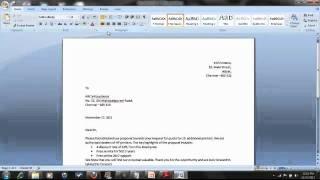 Basics of Microsoft Word - Tamil