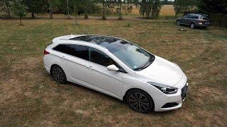 Nowy Hyundai i40 wagon prawie luksus www.motomaniacy.tv смотреть