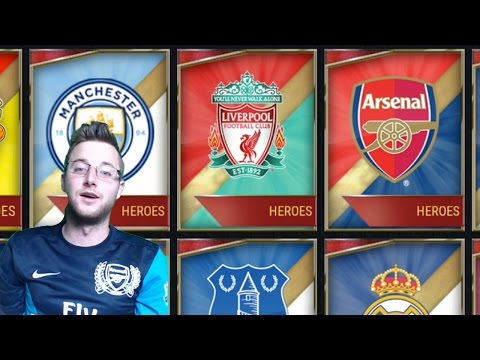 FIFA Mobile 17 All Team Hero Plans Complete! 39 Team Hero Packs in One Video! FIFA Mobile iOS