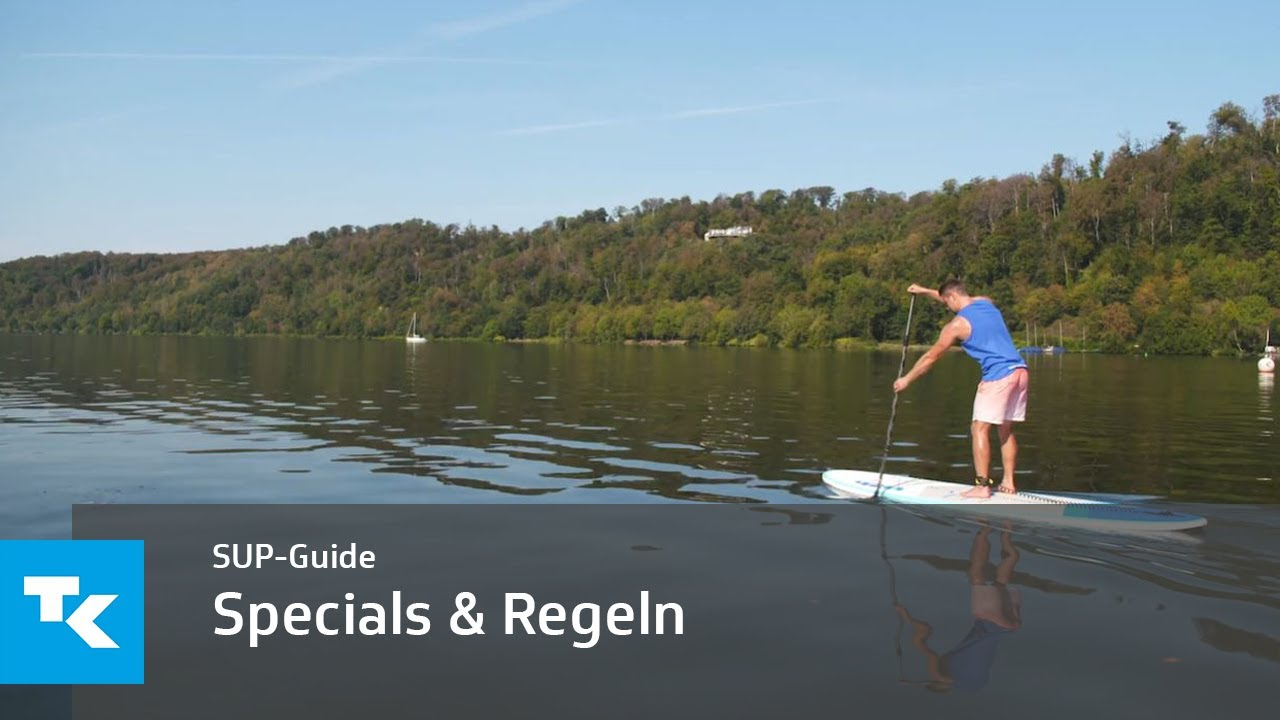 SUP-Guide - Specials und Regeln des Stand-up-Paddlings