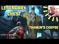 God of War: Legendary Chest Sword Puzzle (Thamur's Corpse)
