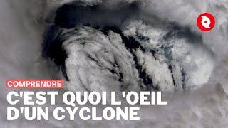 Comment fonctionne le fascinant et mystérieux oeil du cyclone ?