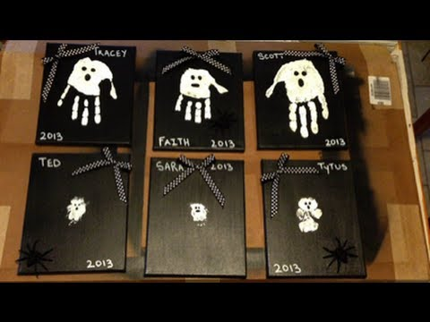 halloween kids crafts how to make a craft painted ghosts 2137