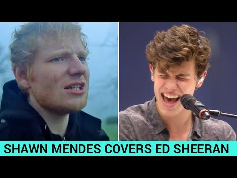 """Shawn Mendes Covers Ed Sheeran's """"Castle on the Hill"""""""