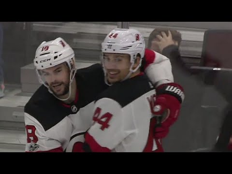Devils' Wood all smiles after completing  hat trick in style