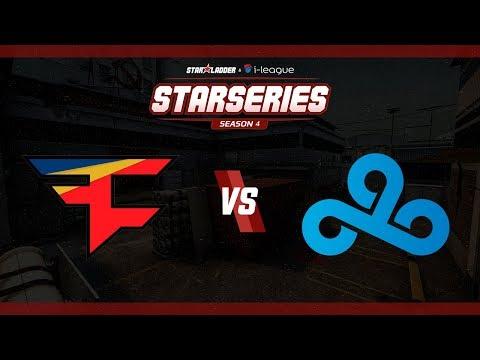 StarSeries i-League S4 - FaZe vs. Cloud9 (Mapa 1 - Cache) - Narração PT-BR