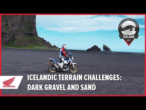 Icelandic Terrain Challenges: Dark Gravel and Sand