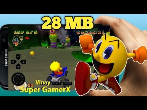 (28MB)Download Pac-Man World Rally PPSSPP Game Highly Compressed Android By Mohamed Pro