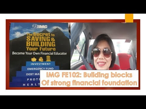 IMG FE 102:Building Blocks for strong Financial Foundation