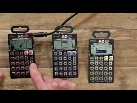 New From NAMM 2016: Teenage Engineering Pocket Operators