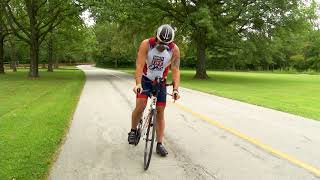 Mike Rizzo is an extreme athlete, participating in Iron Man Triathl...
