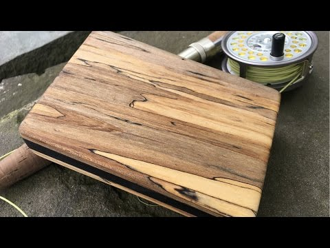 Beautiful Fly Box made out of Pallet Wood!!! Part 2 | Woodworking