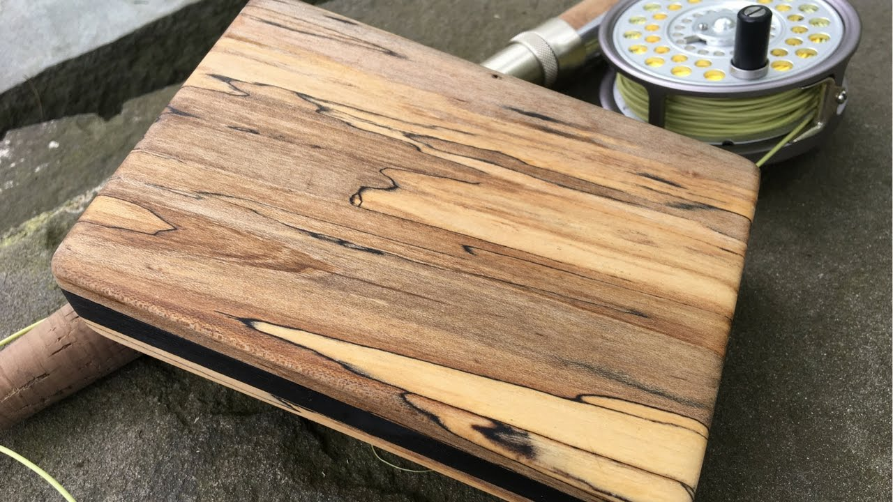 Beautiful Fly Box Made Out Of Pallet Wood Part 2