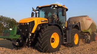 JCB Finishing HARVEST 2018 with SPEED!!