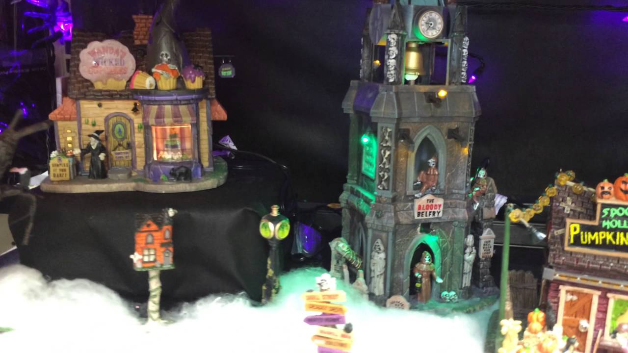Menards Halloween 2016 Lemax Spooky Town Collection - YouTube