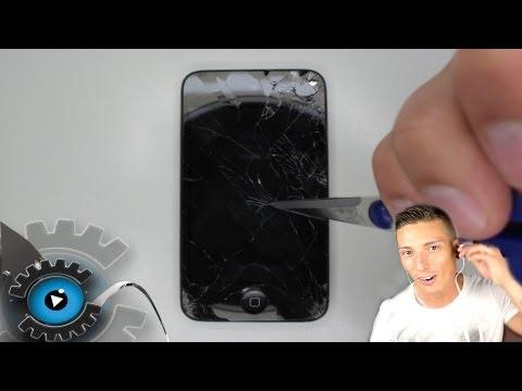 iPod Touch 4G Glas Display Digitizer Tauschen Wechseln Reparieren [German/Deutsch]Glass Repair