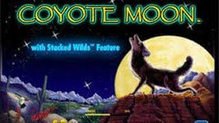 Coyote Moon Slot Machine * Live Play & 2 Bonuses * Nickel Denom