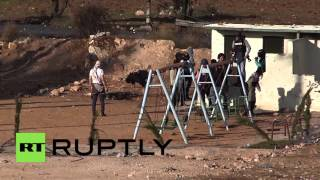 State of Palestine: At least 12 injured in clashes between Israeli forces and protesters